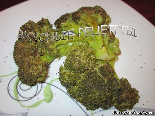 Брокколи на сковороде