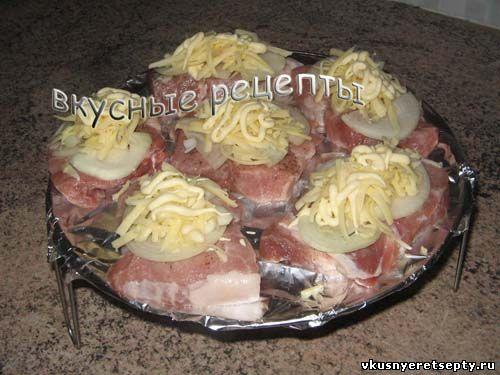 Мясо в аэрогриле3