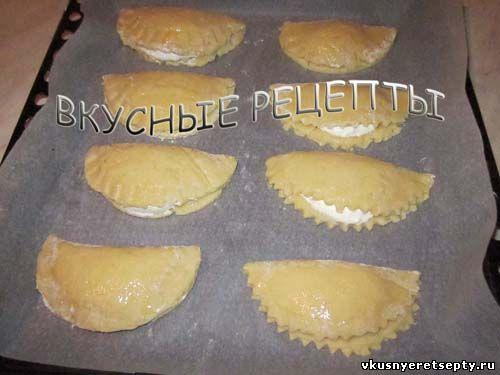 рецепт пирожков с шоколадом в духовке