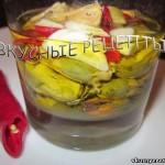Вкусные маринованные мидии