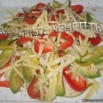 Авокадо с сыром