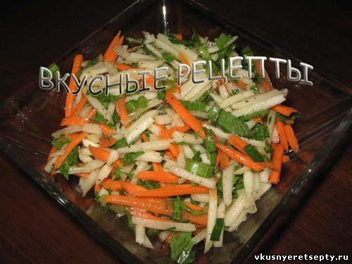 салат из кольраби рецепты приготовления с яйцом