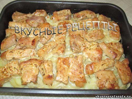 свинина с картошкой в фольге в духовке рецепт с фото
