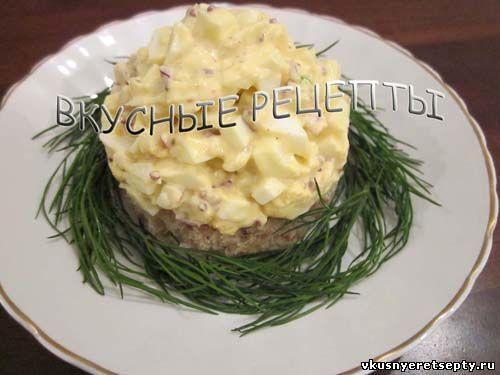 Закуска из яиц