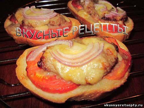 Бутерброды в духовке