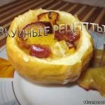Печеные яблоки в духовке