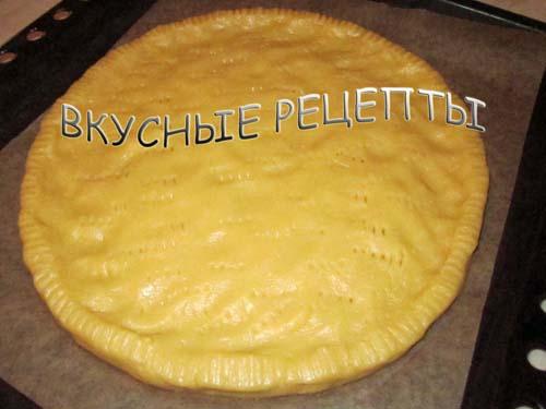 Песочный пирог с яблоками2