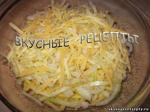 Картофельная запеканка с грибами2