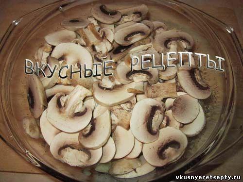 Картофельная запеканка с грибами3
