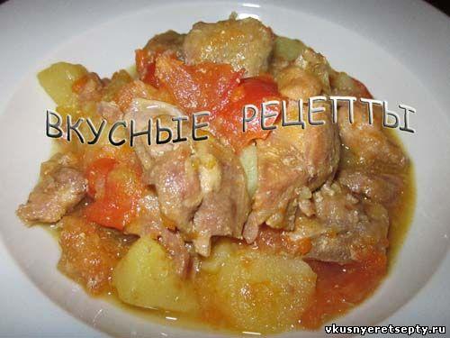 Куриное филе с картошкой