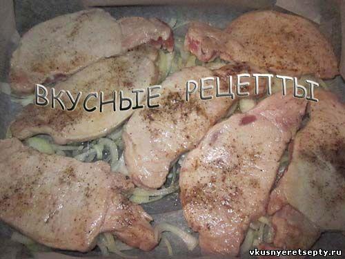 Мясо по-французски в духовке5