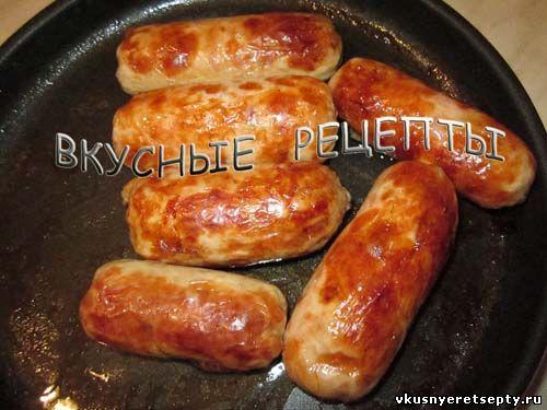 Куриные колбаски9