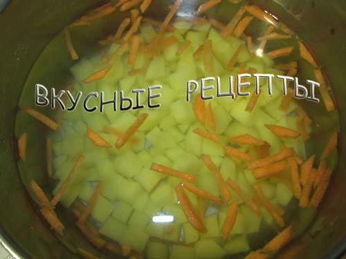 Суп из плавленных сырков1