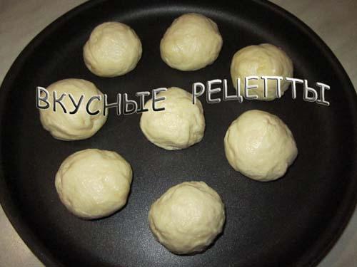 рецепт булочек на молоке в духовке фото