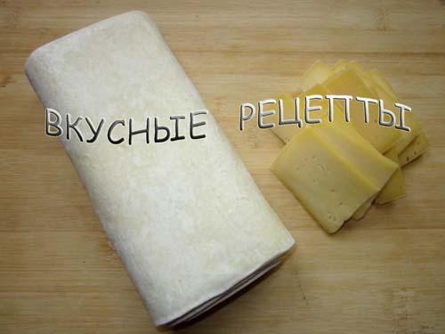 Слойки с сыром1
