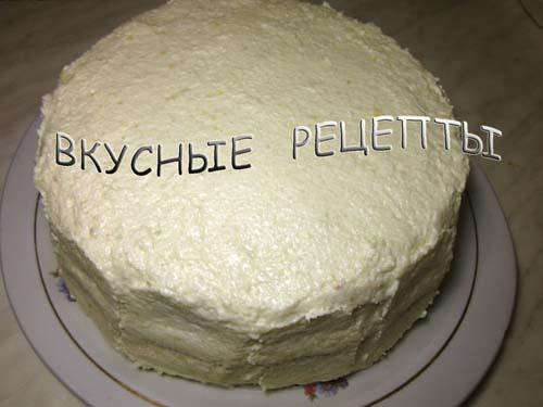 Торт в мультиварке5