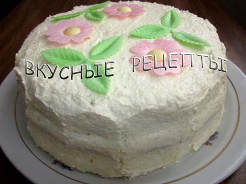 Торт в мультиварке6