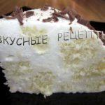 Торт с желатином и сметаной