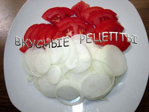 Кабачки с помидорами в духовке2