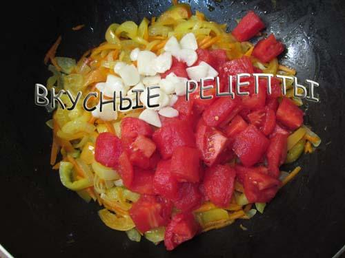 Овощное рагу с баклажанами4